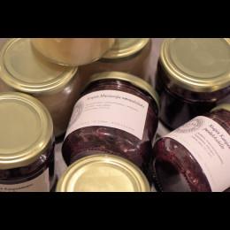 Villirucola-hasselpähkinäpesto